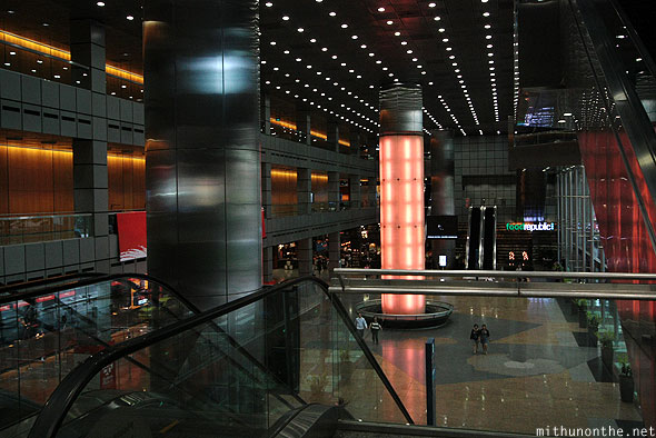 Suntec City expo center lobby Singapore