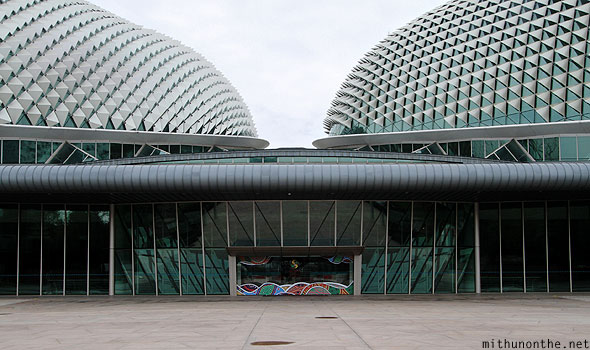 The Esplanade theatres entrance Singapore