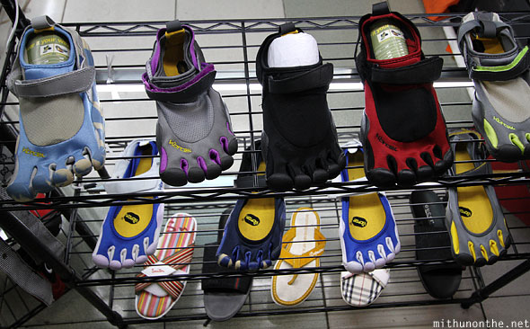 Toe finger shoes Greenhills shop Manila