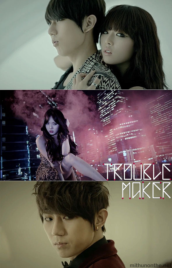 Trouble Maker HyunA Hyunseung mv screencap kpop