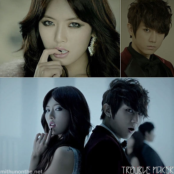 Troublemaker JS Hyuna video sexy screencap k-pop