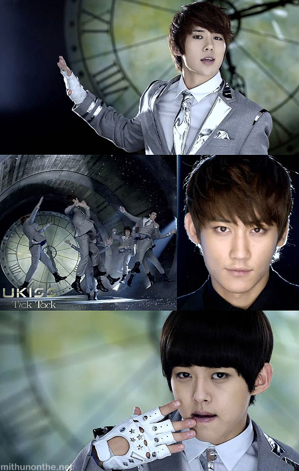 U-kiss Japan pv Tick Tack screencap
