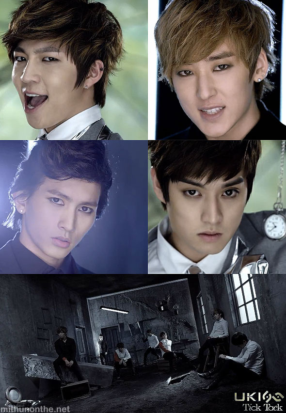 U-Kiss Japan single Tick Tack mv members screencap