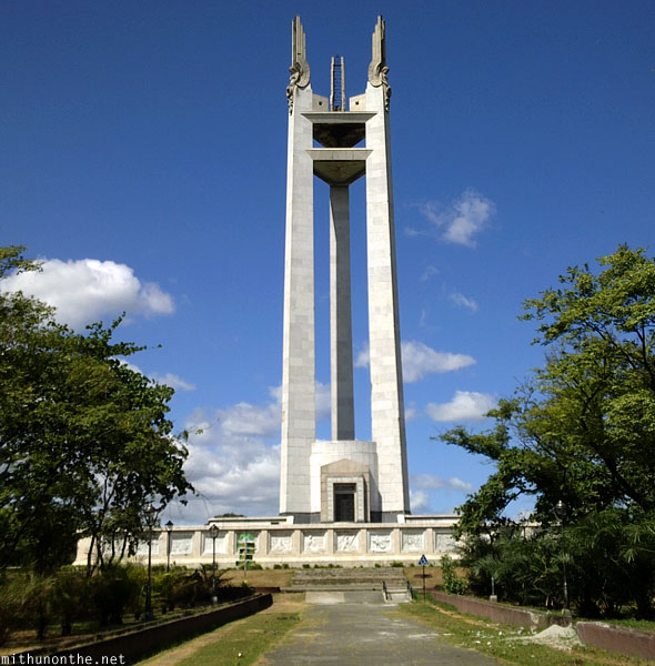 Quezon Memorial Circle shrine Quezon City Manila Philippines