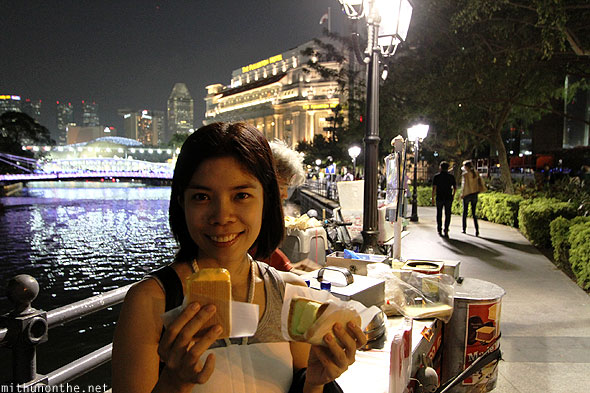 Aimee Mariee bread ice cream boat quay Singapore