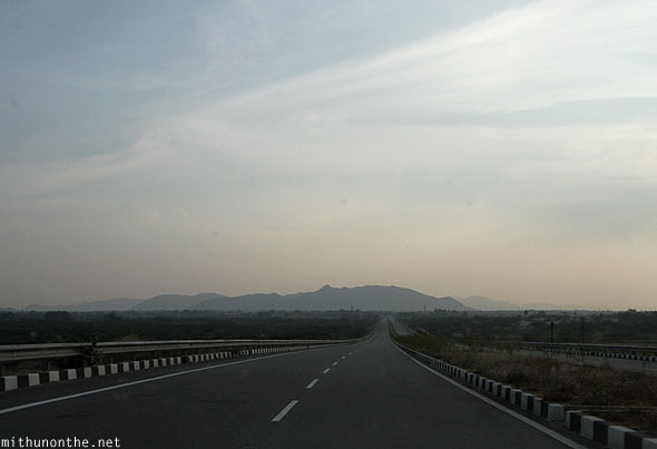 Bangalore Hyderabad highway NH7 Andhra Pradesh India