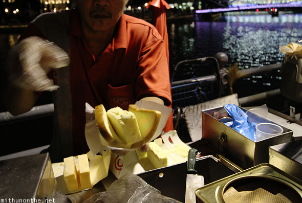 Bread ice cream boat quay Singapore
