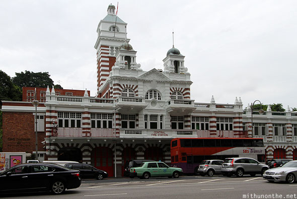 Central fire station building Singapore
