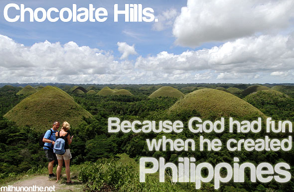Chocolate Hills It's more fun in the Philippines