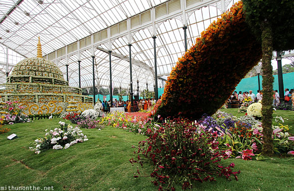 Floral attraction Lal Bagh Republic day flower show Bangalore
