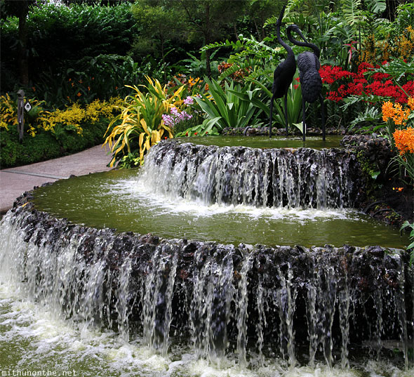Fountain Singapore botanic park