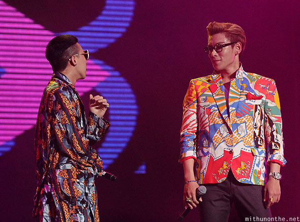 G-Dragon T.O.P Big Bang Singapore Formula 1 concert