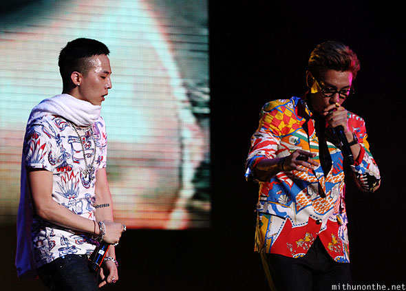G-Dragon T.O.P Singapore concert formula one