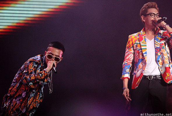 GD & Top korean pop Singapore F1 concert