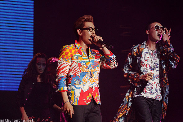 GD & Top performing Singapore F1 concert