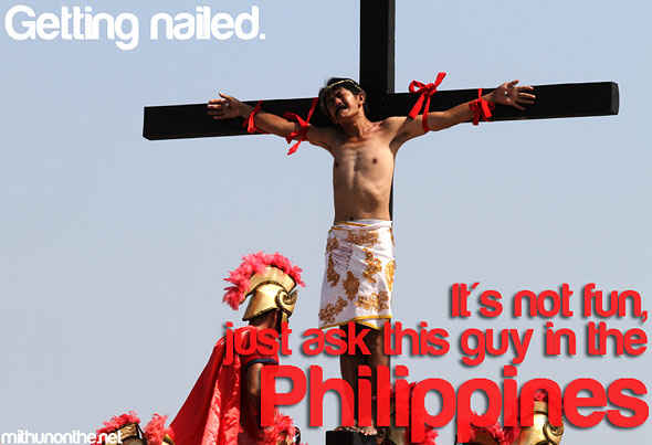 Good friday cross its more fun in philippines meme