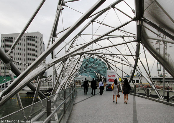 Helix bridge Gate 10 Singapore F1