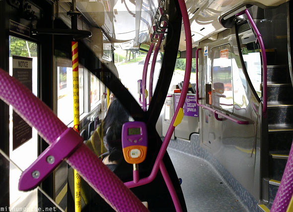 Inside SBS bus