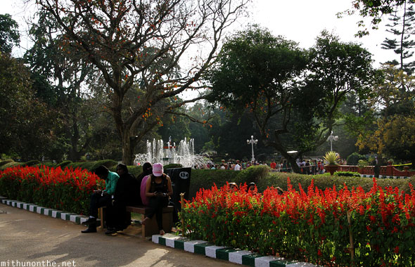Lal Bagh botanical gardens Bangalore India
