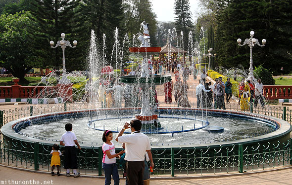 Lal Bagh fountain Bengaluru