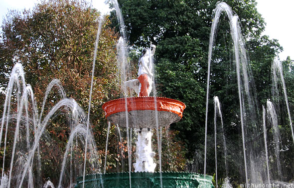 Lal Bagh fountain slow shutter speed Bangalore