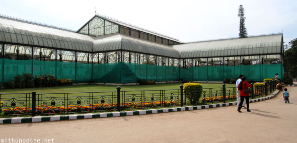 Lal Bagh glasshouse Bangalore India