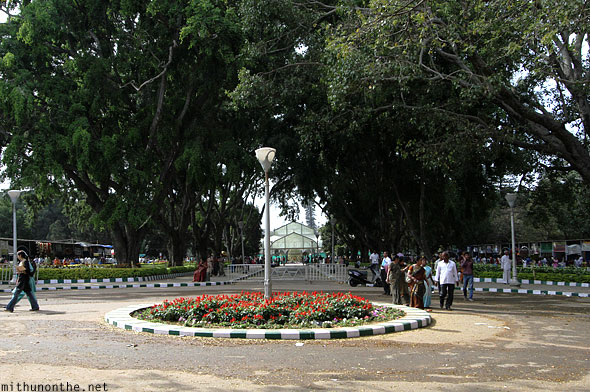 Lal Bagh towards glasshouse Bangalore India