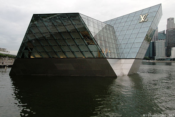 Louis Vuitton floating store Marina Bay Singapore