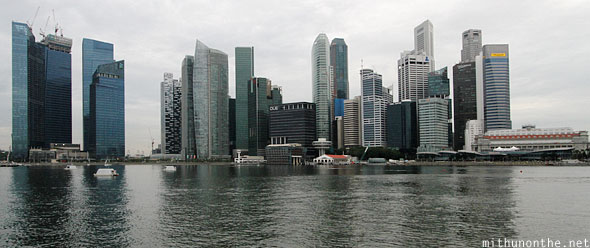Marina Bay buildings Singapore