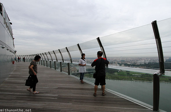 Marina Bay Sands Skypark first sight Singapore