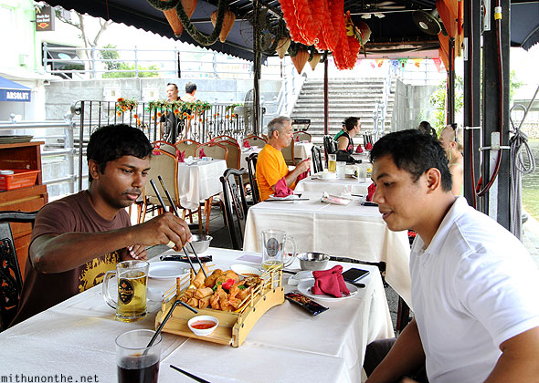Mithun Divakaran Alex Presto Chinese lunch Singapore