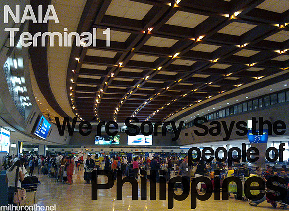 NAIA sorry its more fun in Philippines
