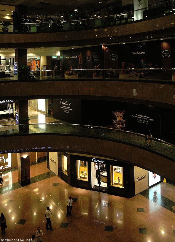 Ngee Ann shopping mall floors Singapore