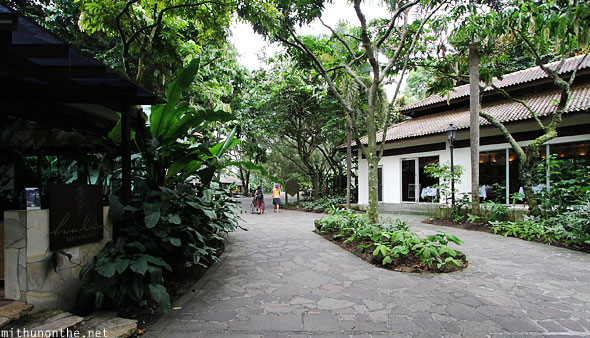 Restaurants Singapore Botanic garden