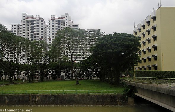 Singapore apartments canal