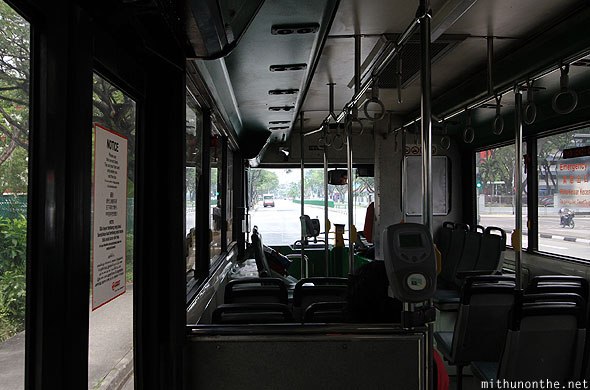 Singapore bus to Bukit Timah