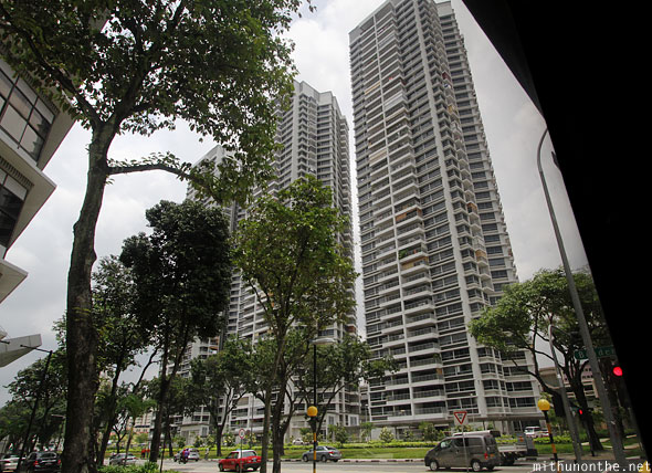 Singapore condominiums apartments