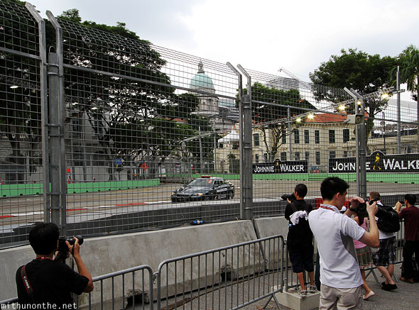 Singapore GP BMW safety car F1 Friday