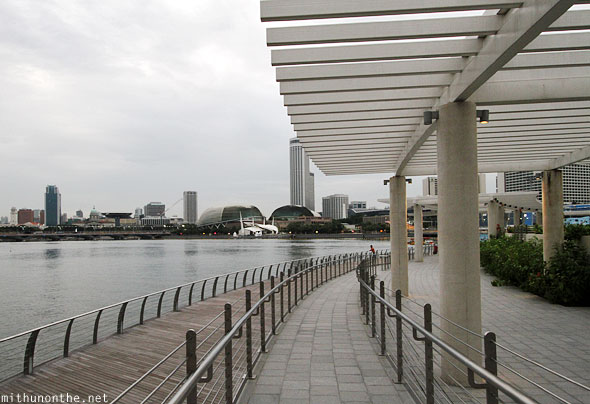 Singapore Marina Bay waterfront