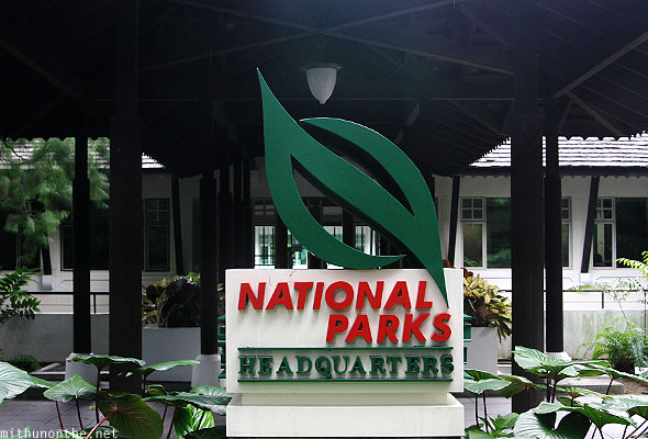 Singapore national parks headquarters