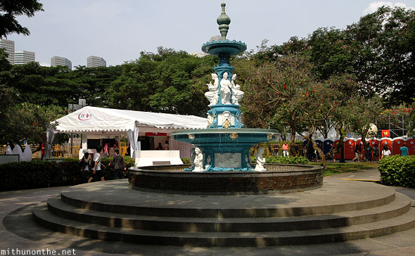 Tan Kim Seng fountain Padang Singapore