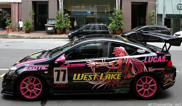 Team Exotic street racing car Civic Singapore