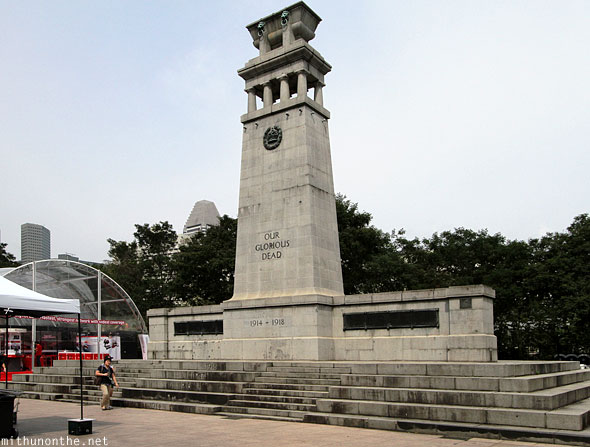 The Cenotaph war memorial Singapore