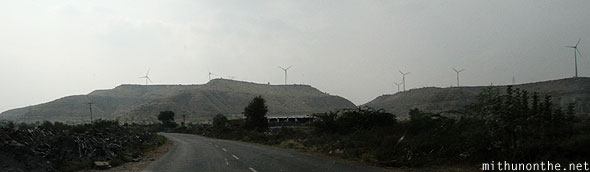 Windmills hills Andhra Pradesh India