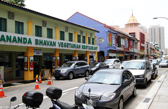 Ananda Bhavan vegetarian restaurant Little India Singapore
