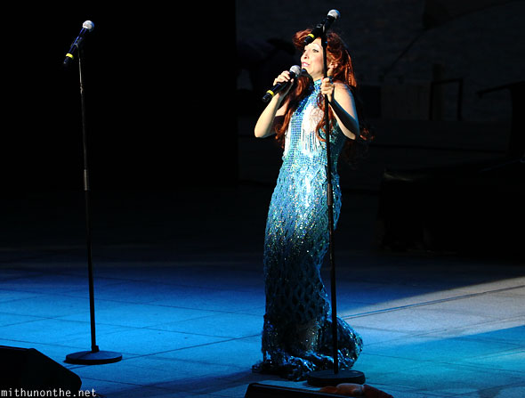 Ariel Little Mermaid Forbidden Broadway Singapore F1 show