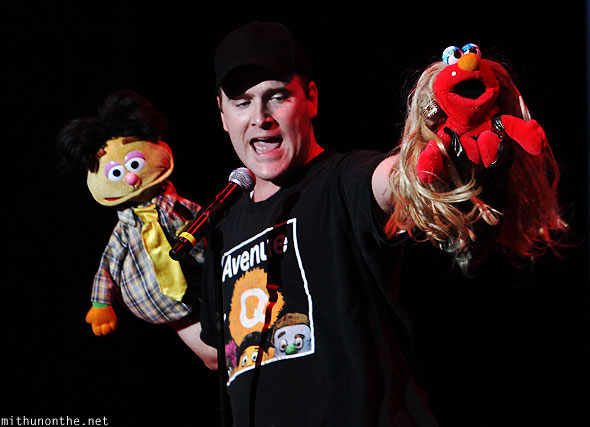 Avenue Q Forbidden Broadway Singapore show