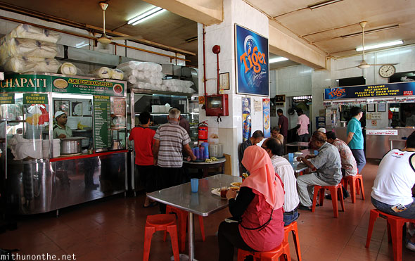 Azmi restaurant Norris road Little India Singapore