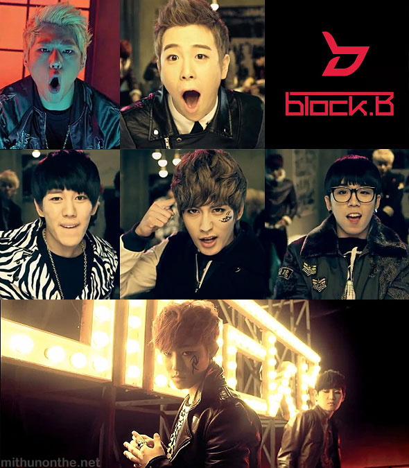 Block B NanrinA mv screencap kpop video members