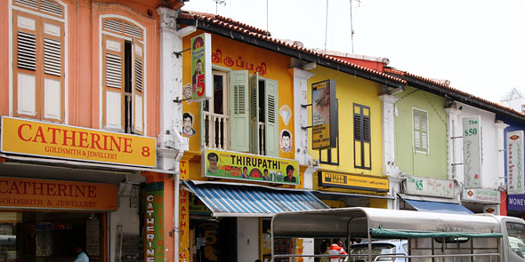 Catherine goldsmith Thirupathi salon Little India stores Singapore